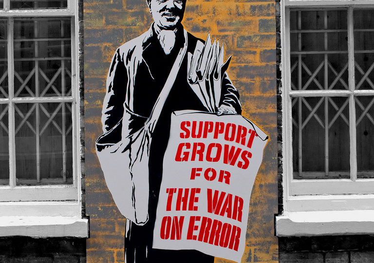 Grafitti: Support grows for the war on error